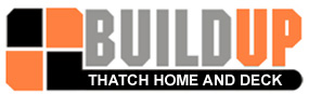 Buildup Thatch Home & Deck Logo